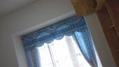阳离子遮光布-蓝色小花