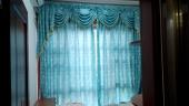恒大苹果园卧室窗帘案例——田园风格