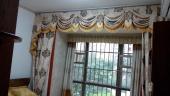 润华尚城街区主卧窗帘案例——简欧风格