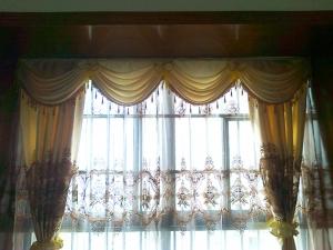 青秀区海华东盟公馆餐厅窗帘案例