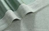 天鹅绒窗帘松石绿