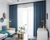 雅典格窗帘海蓝
