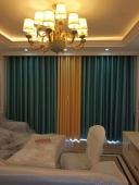良庆区玫瑰园小区客厅窗帘案例