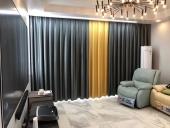 青秀区东盟中央城客厅窗帘案例