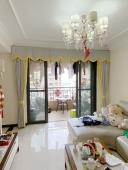 南宁青秀区绿地中央广场客厅窗帘案例